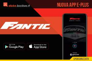 Fantic E-Plus: App per gestire le ebike Fantic