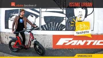 Il test della nuova ebike urbana Fantic ISSIMO