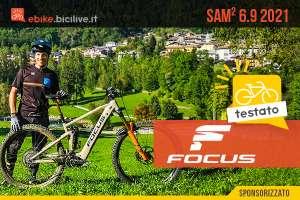 Il test della nuova eMTB Focus Sam2 6.9 2021