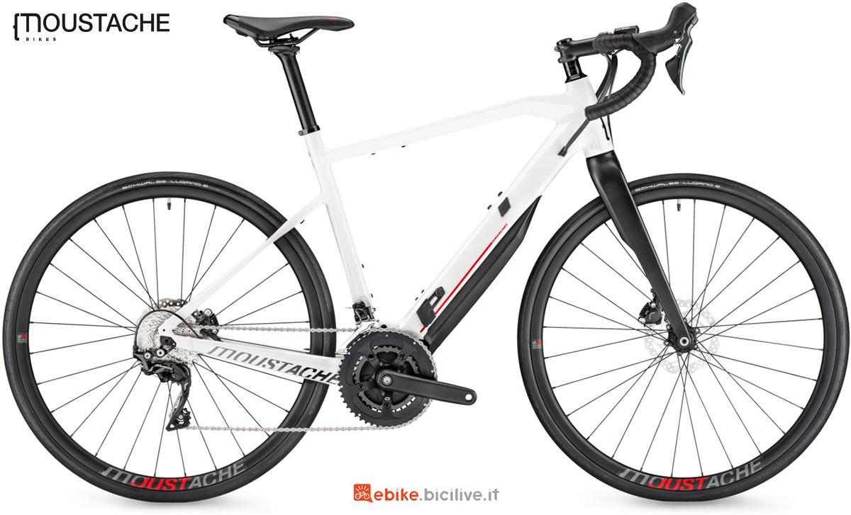 La nuova bici elettrica da strada Moustache Dimanche 28.3 della gamma 2021