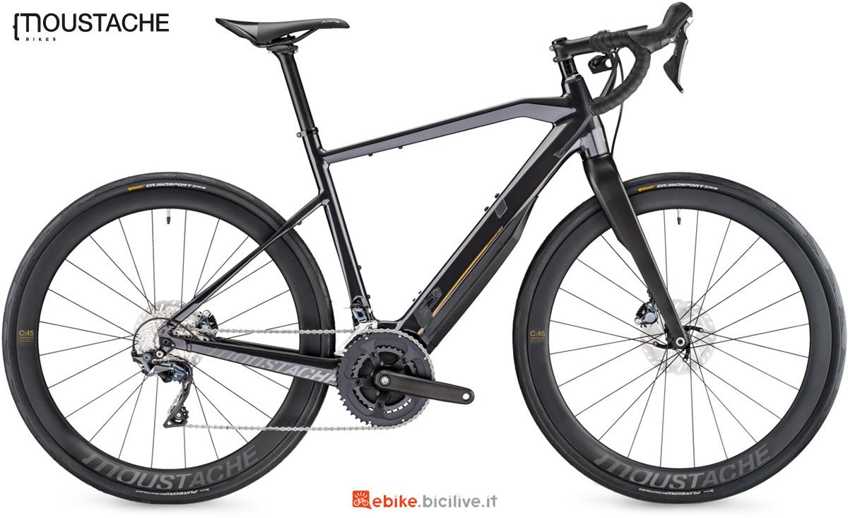 La nuova e-bike da strada Moustache Dimanche 28.7 della gamma 2021