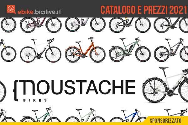 Il catalogo completo di prezzi della nuova gamma 2021 di ebike Moustache