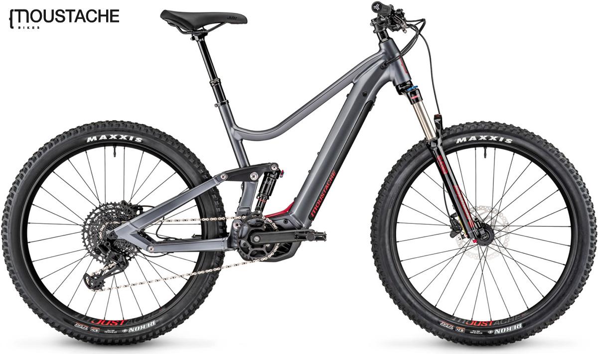 La nuova mountainbike elettrica Moustache Samedi 27 Wide della gamma 2021