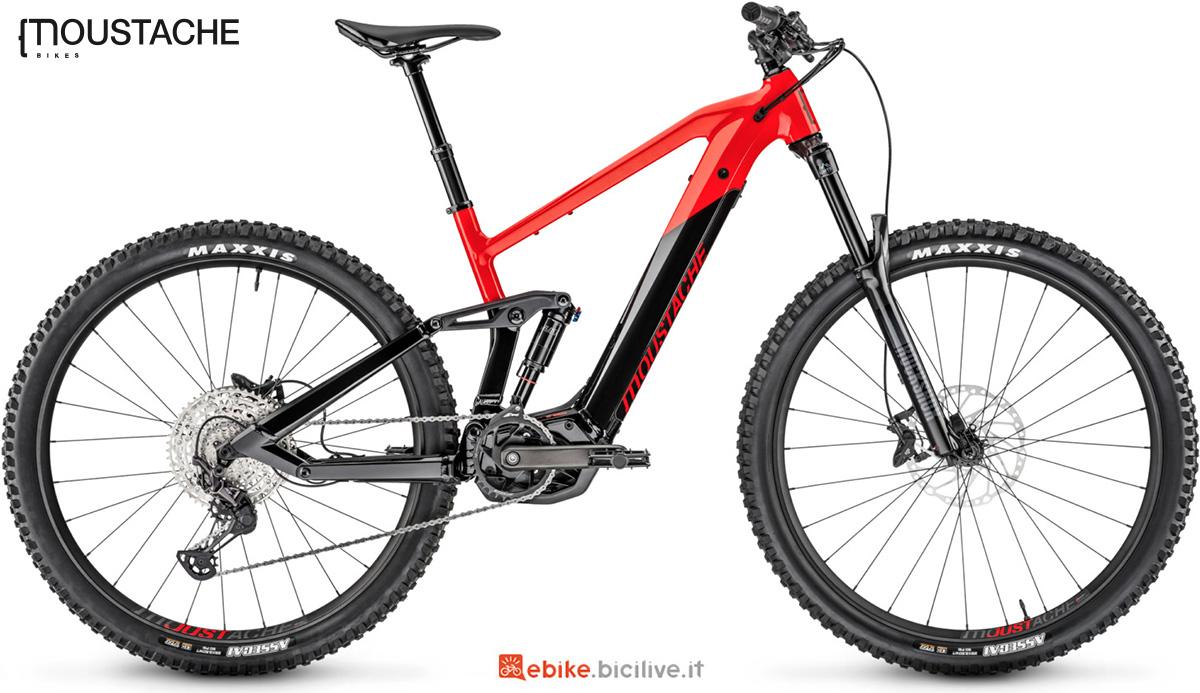 La bicicletta a pedalata assistita Moustache Samedi 29 Game 4 gamma 2021