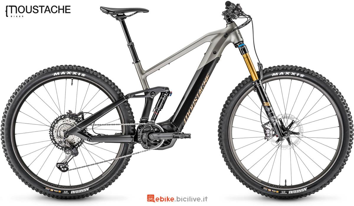 La nuova mountainbike elettrica Moustache Samedi Trail 10 della gamma 2021