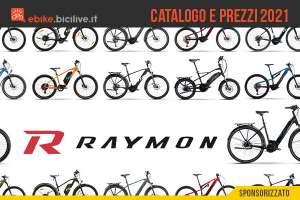 La gamma 2021 delle bici elettriche R-Raymon