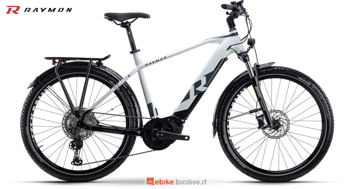 La nuova ebike da trekking R Raymon CrossRay E 8.0 Gent della gamma 2021