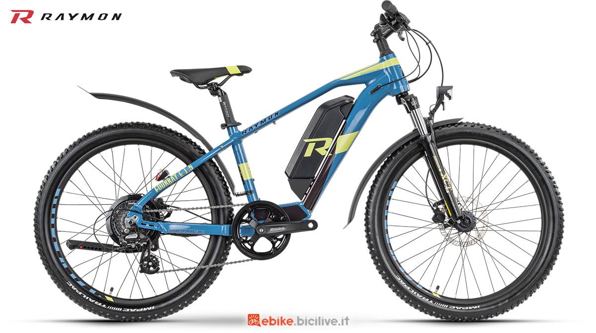 La nuova e-bike da bambino R Raymon FourRay E 1.5 Street della gamma 2021