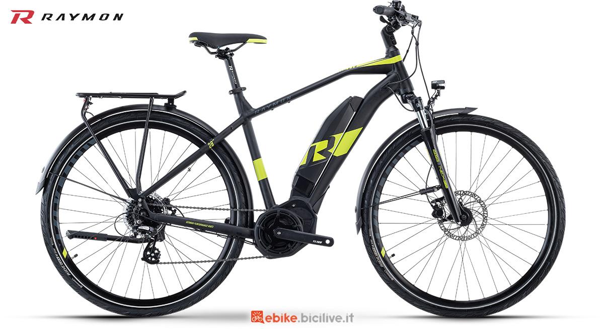 La nuova ebike da trekking R Raymon TourRay E 1.0 Gent della gamma 2021
