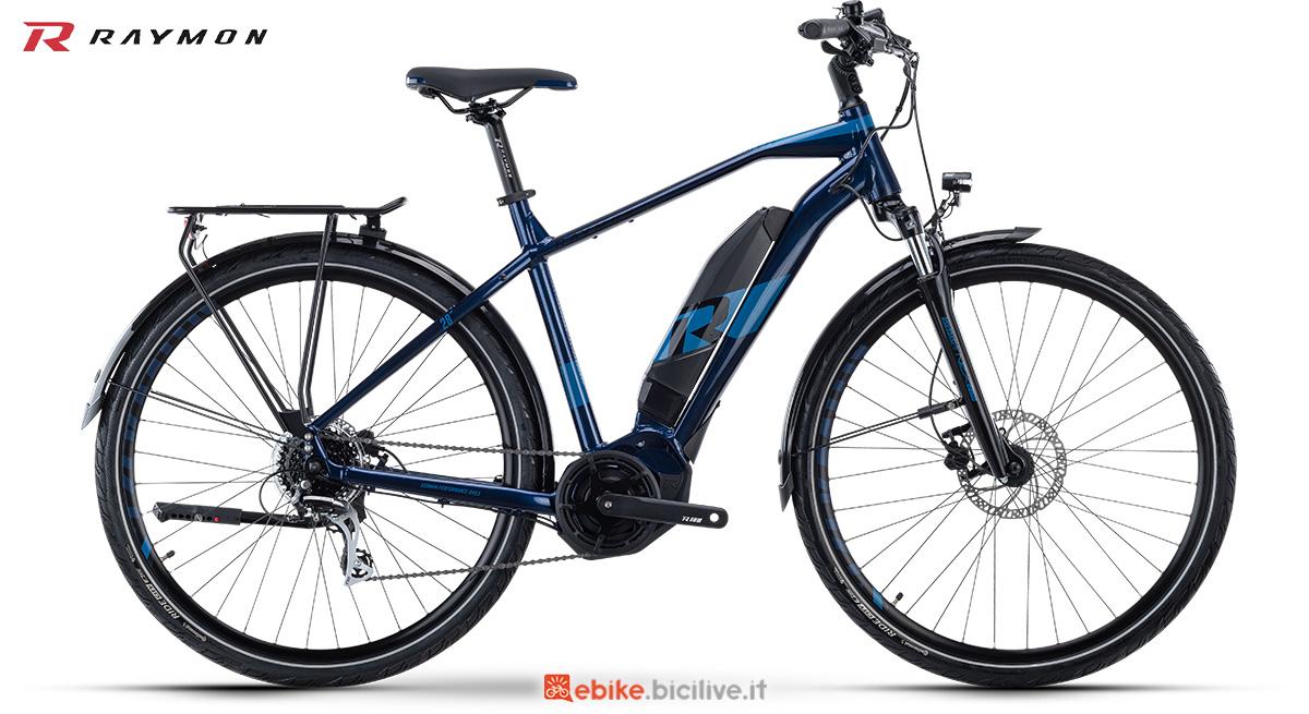 La nuova bici elettrica da trekking R Raymon TourRay E 2.0 Gent della gamma 2021