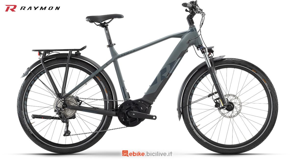 La nuova ebike da trekking R Raymon TourRay E 6.0 Gent della gamma 2021