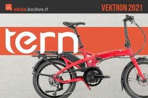 La nuova gamma di ebike pieghevoli Tern Vektron 2021