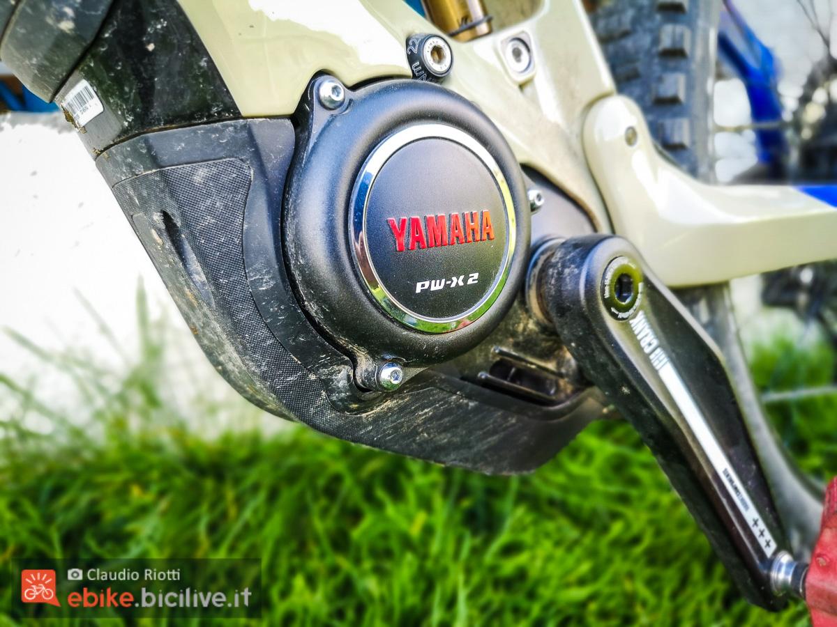Foto del motore della Haibike AllMnt 7.
