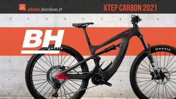 La nuova mtb elettrica BH Step Carbon 2021