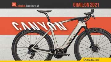 La nuova bici elettrica per il gravel e gli spostamenti urbani Canyon Grail:ON 2021