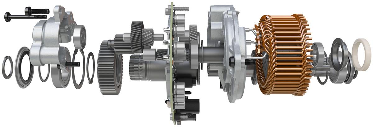 Il motore Bosch equipaggiato sulla Centurion Backfire Fit E R811i DualBatt EQ 2021