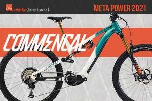 La nuova e-MTB Commencal Meta Power 2021