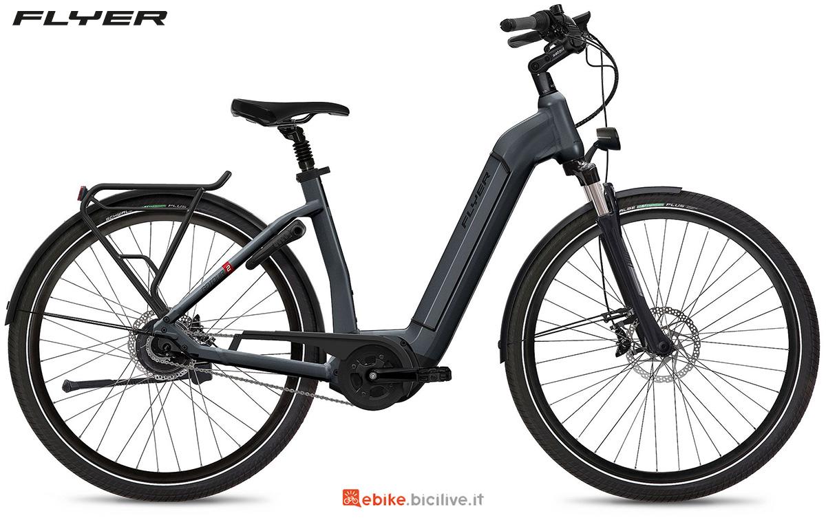 La nuova ebike urbana Flyer Gotour2 2021