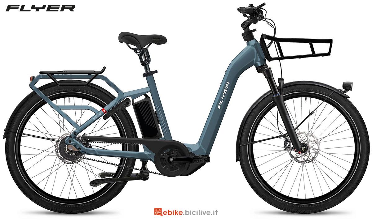 La nuova ebike urbana Flyer Gotour3 2021