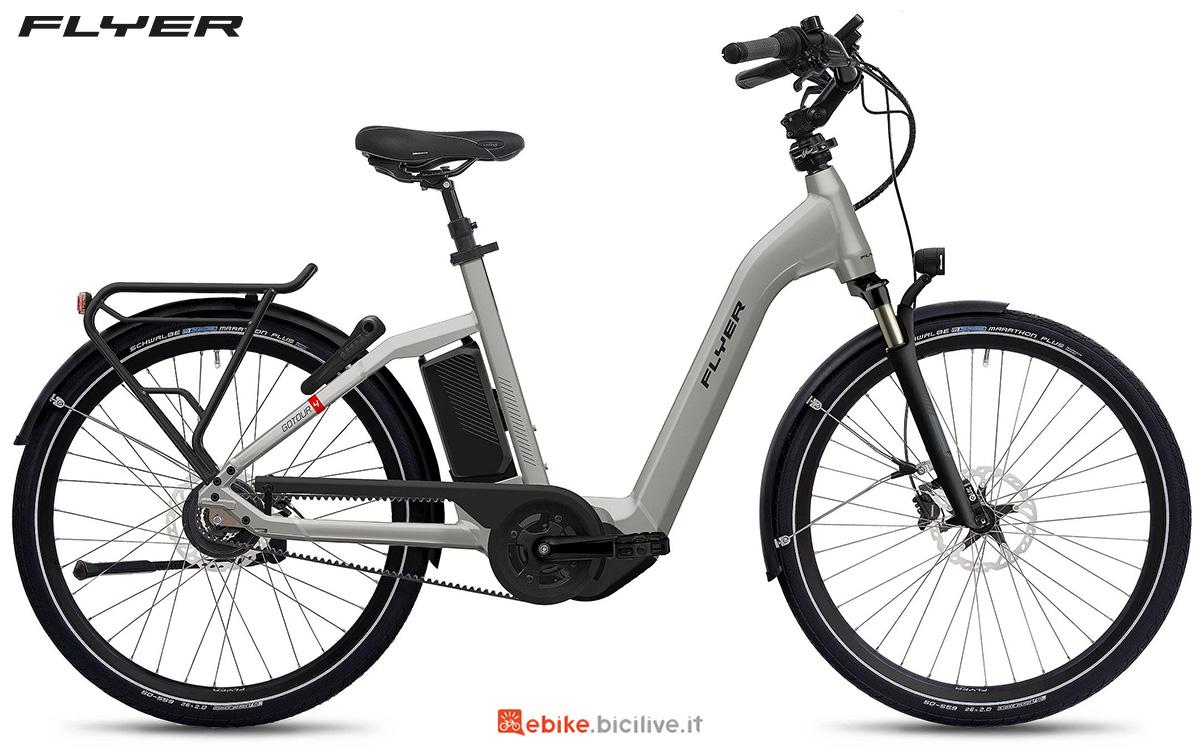 La nuova ebike urbana Flyer Gotour4 2021