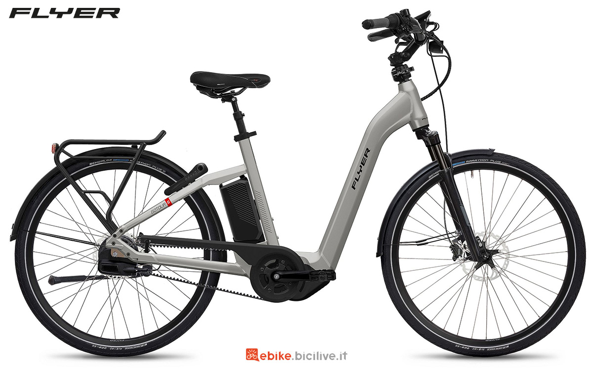 La nuova ebike urbana Flyer Gotour5 2021