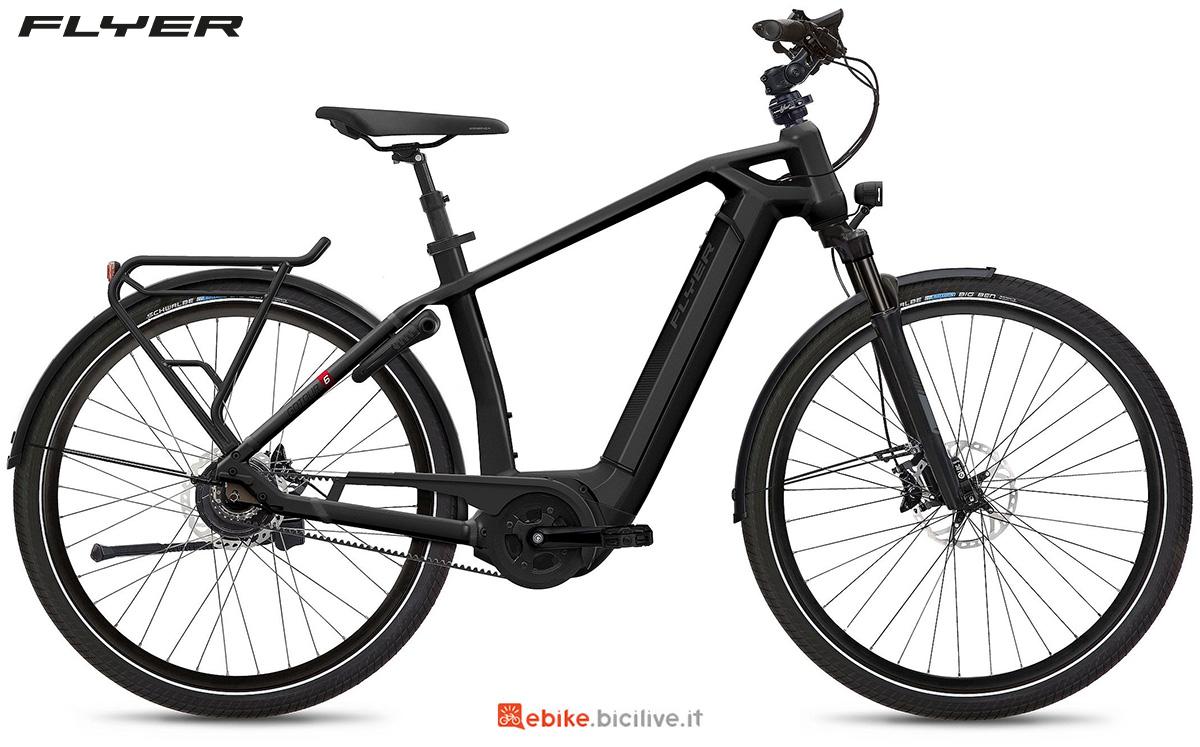 La nuova ebike urbana Flyer Gotour6 2021