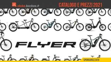 Il catalogo completo e listino prezzi delle nuove ebike Flyer 2021