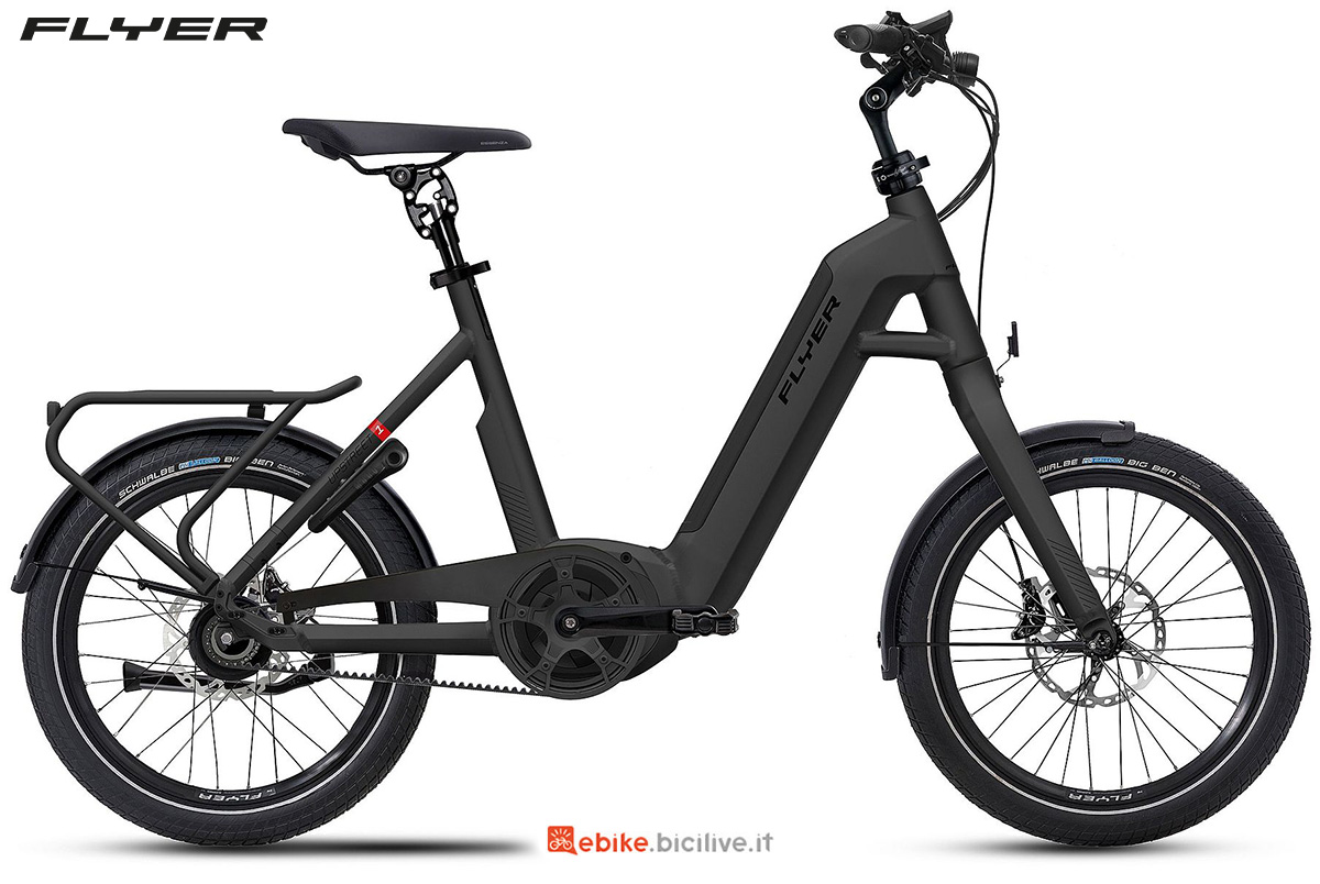 La nuova ebike da trekking Flyer Upstreet1 2021