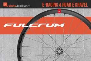 Le nuove ruote per bici elettriche da strada e gravel Fulcrum E-racing 4 2021
