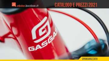 Le ebike GasGas 2021: catalogo e listino prezzi