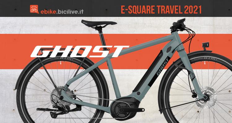 La nuova ebike urban Ghost Esquare Travel 2021