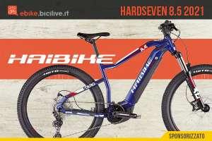 La nuova emtb Haibike Hardseven 8.5 2021