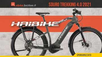 La nuova ebike da trekking Haibike Sduro Trekking 4.0 2021