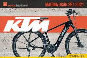 La nuova ebike per gli spostamenti urbani Ktm Macina Gran 291 2021