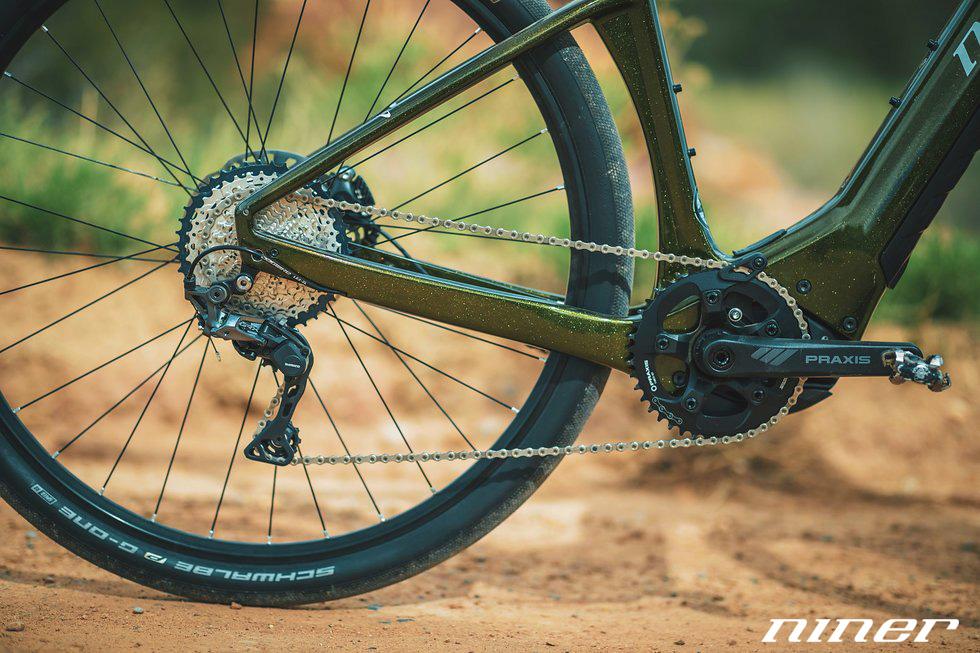La trasmissione della e-bike Niner RLT e9 RDO gamma 2021