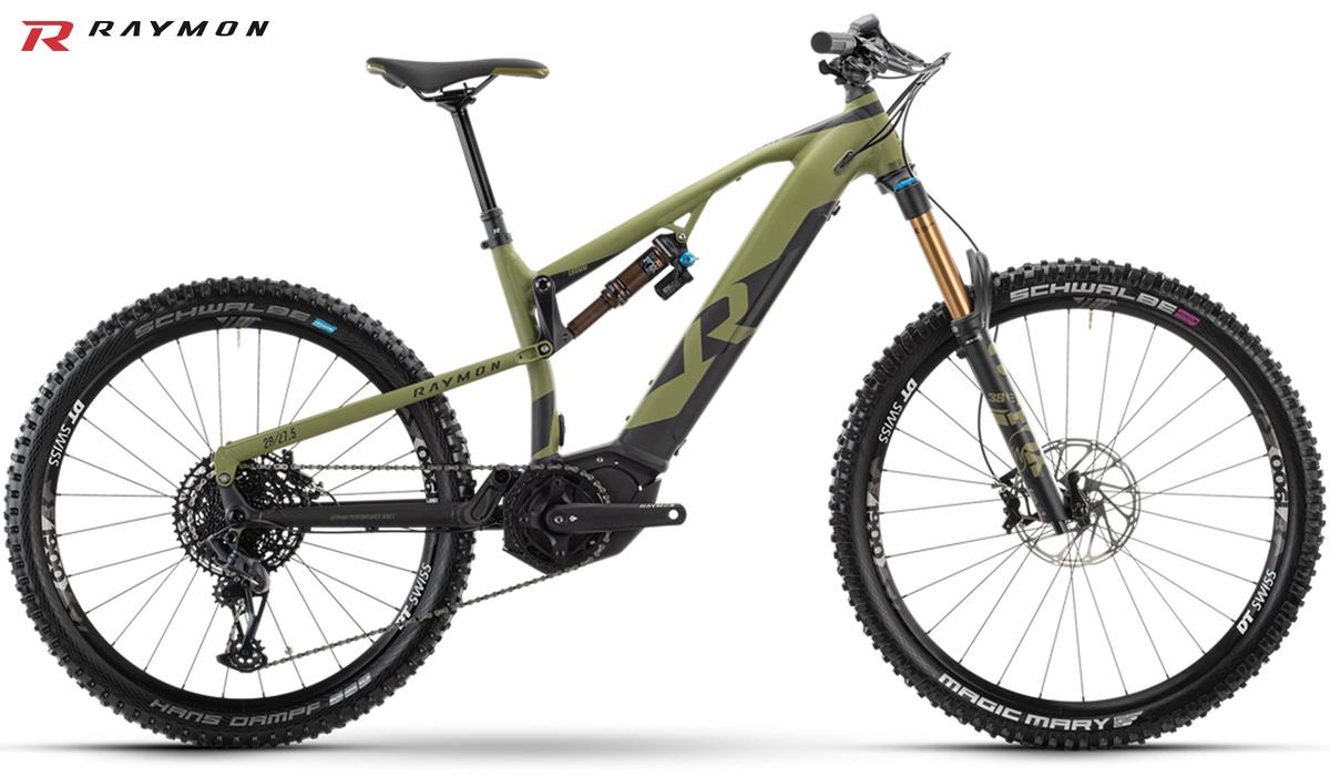 Una MTB a pedalata assistita R Raymon Trailray E11.0 2021