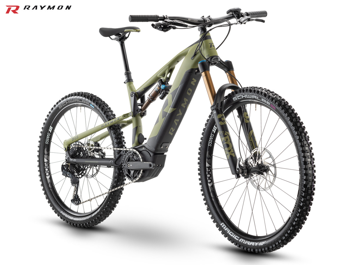 Una mountain bike elettrica R Raymon Trailray E11.0 2021