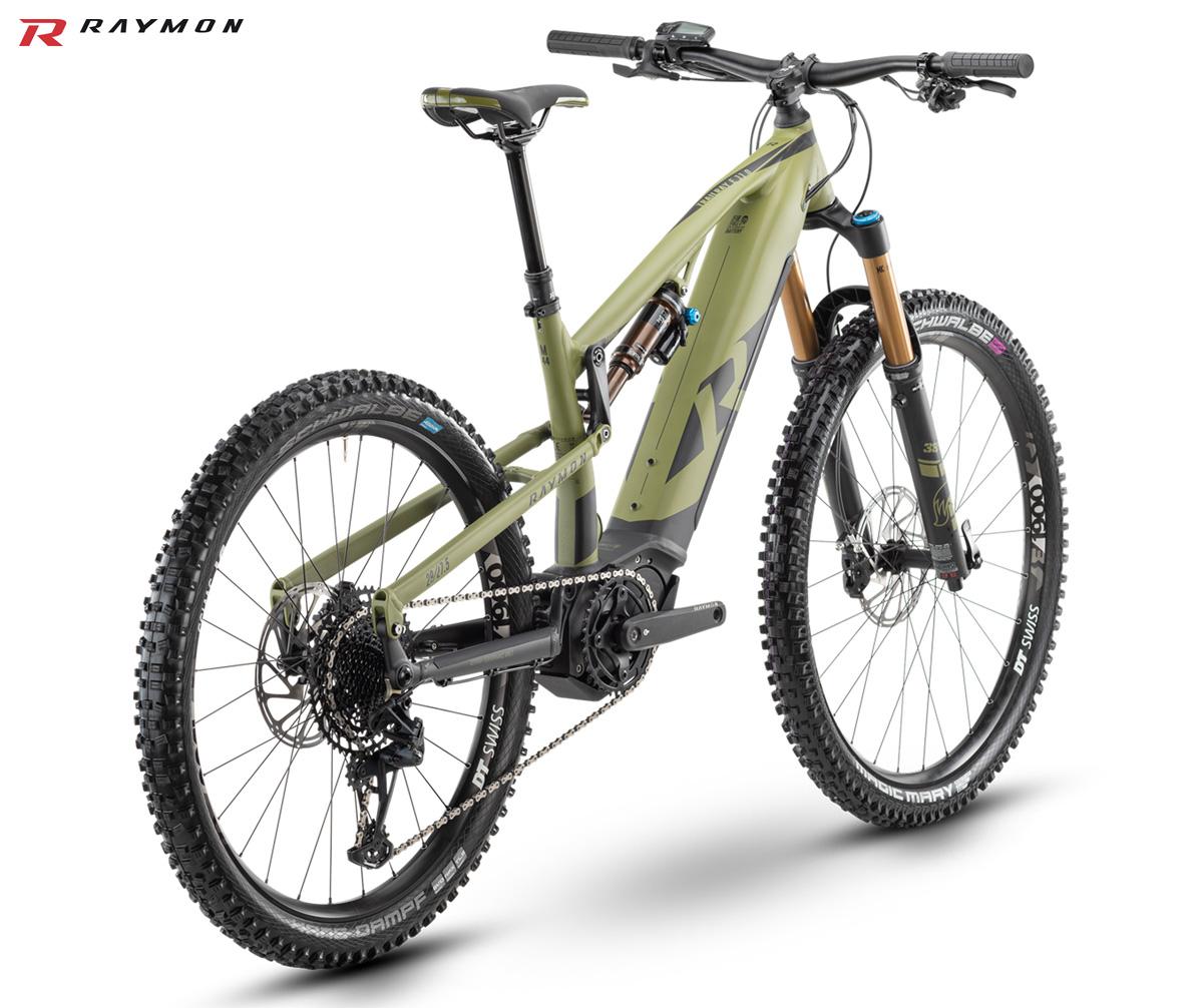 Una eMTB R Raymon Trailray E11.0 2021