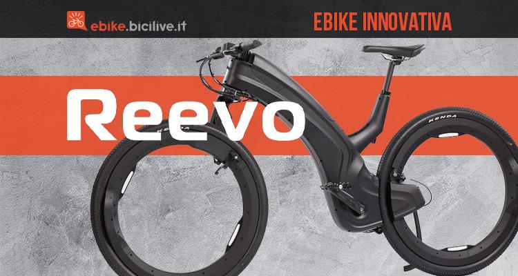 L'innovativa ebike senza mozzi Reevo