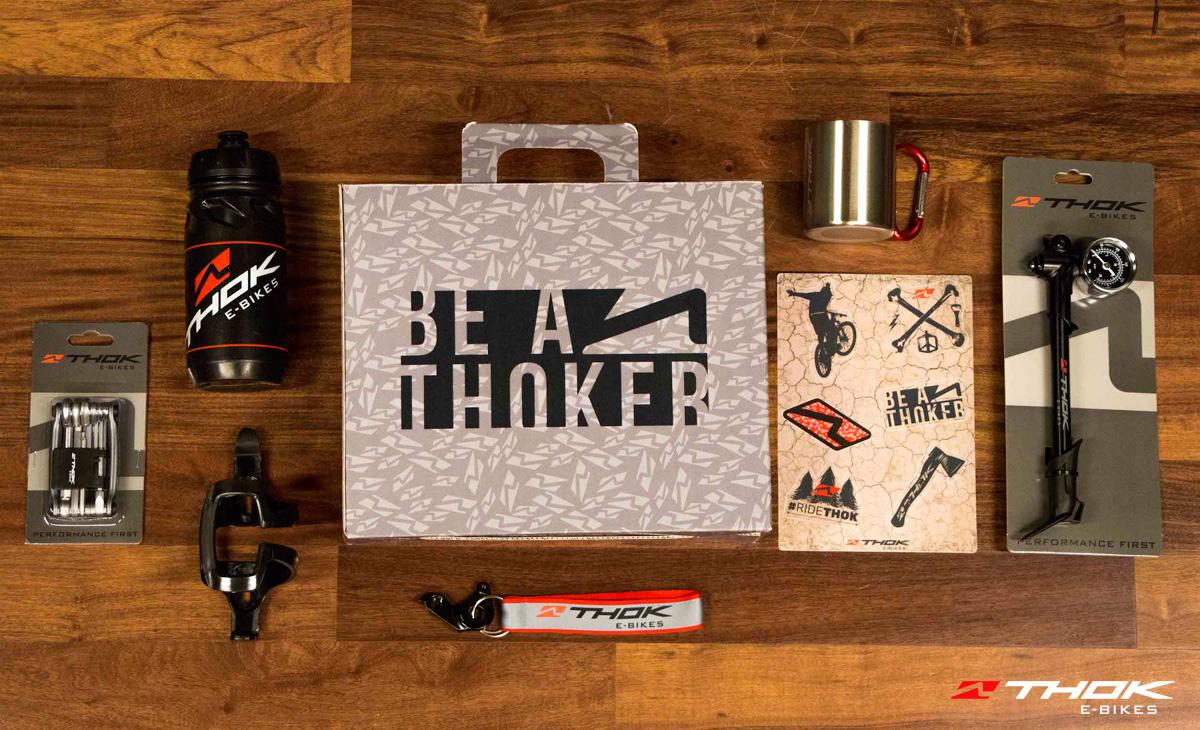 Valigetta e accessori per rider elettrici Thok
