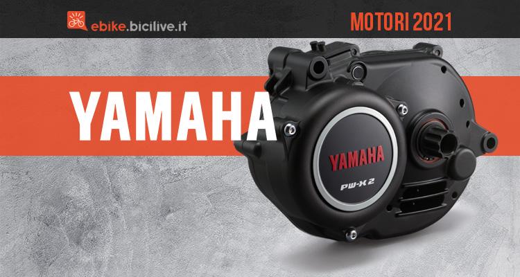 I nuovi motori per ebike Yamaha 2021