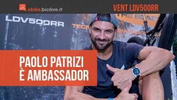 Paolo Patrizi è l'ambassador della Vent LDV500RR