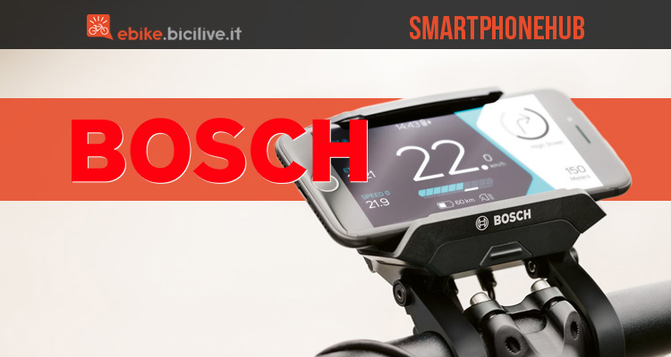 Bosch Smartphonehub: supporto smartphone per ebike