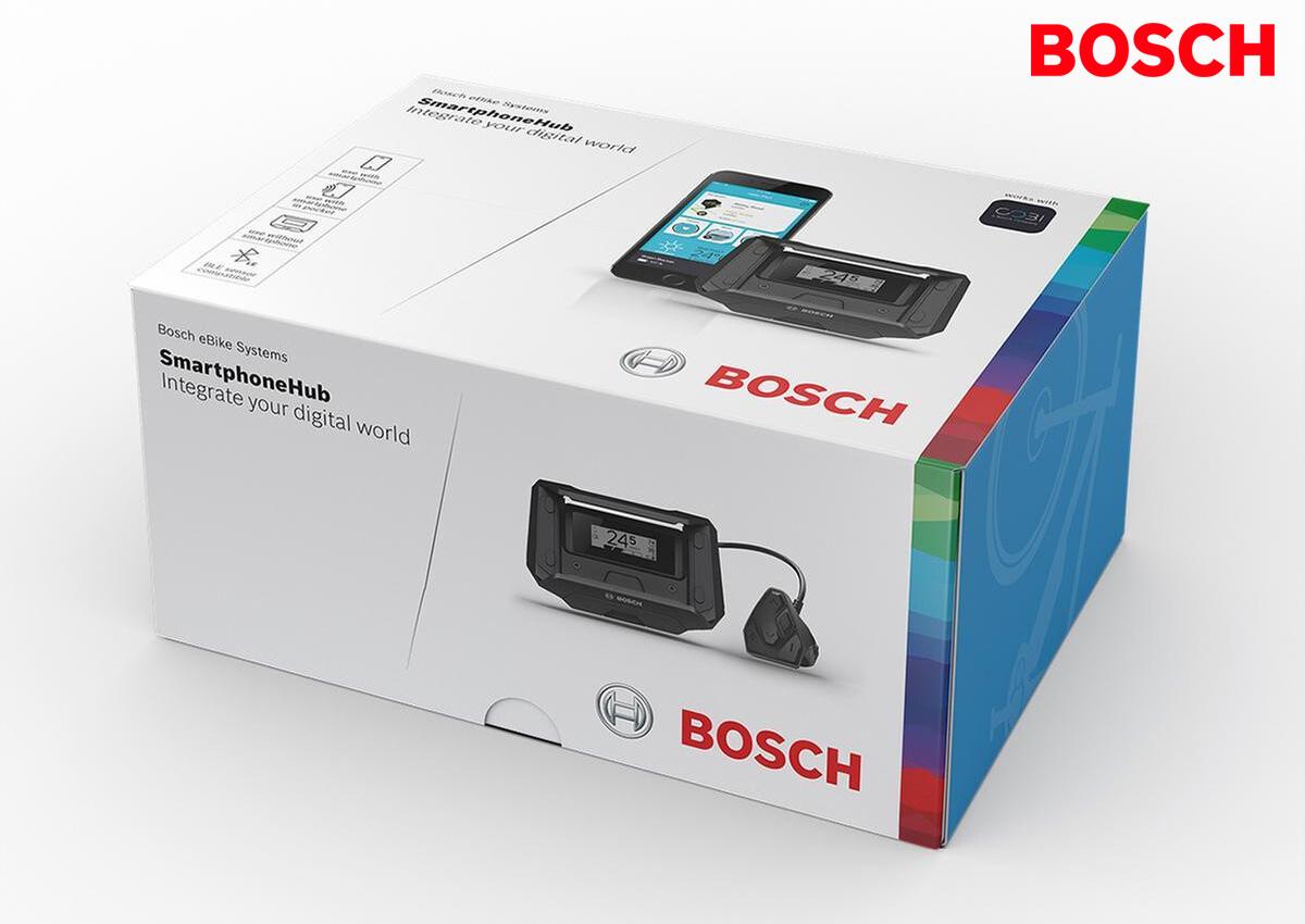 La scatola in commercio del Bosch Smartphonehub