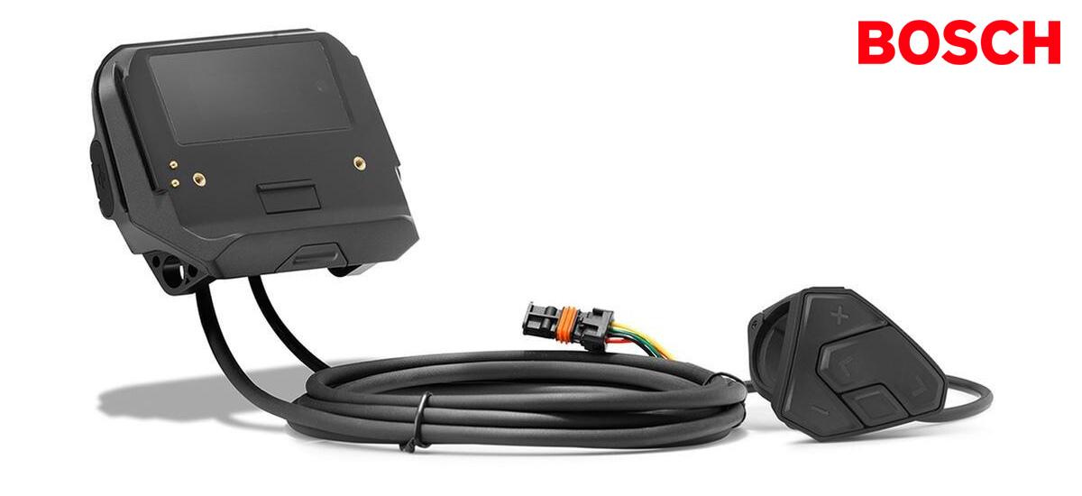 Un Bosch Smartphonehub con controllo remoto da manubrio