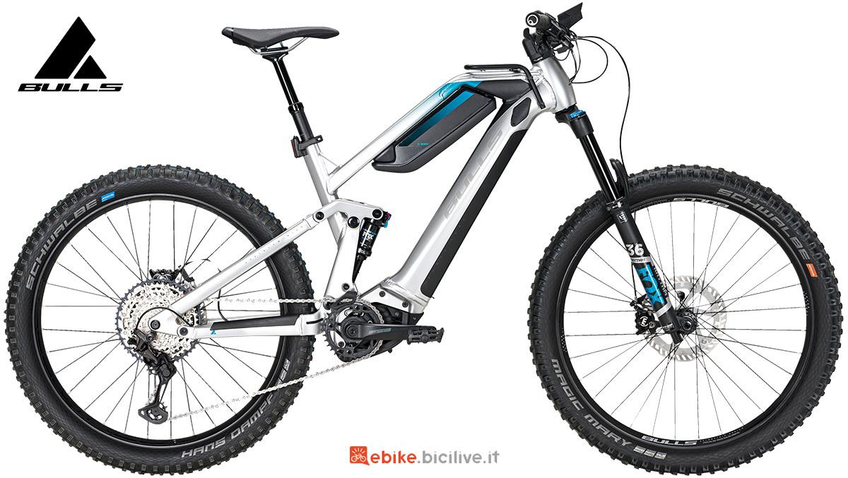 La nuova mtb elettrica full-suspended Bulls bike Adventure Evo AM 2021