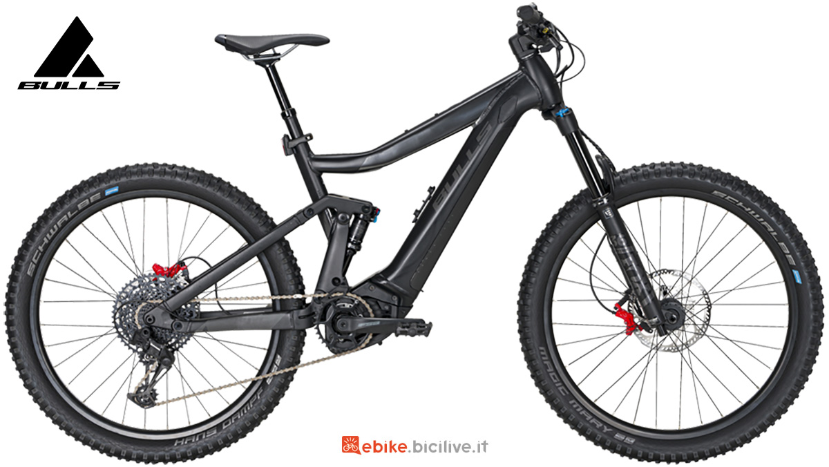 La nuova mtb elettrica full-suspended Bulls bike Copperhead Evo AM 3 Abs 2021