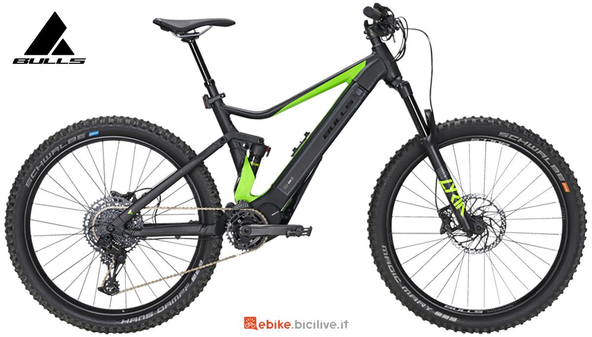 La nuova mtb elettrica full-suspended Bulls bike E-core Evo AM 1 2021