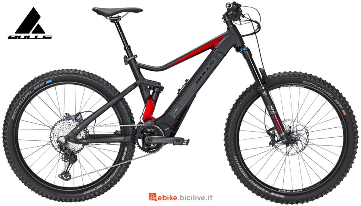La nuova mtb elettrica full-suspended Bulls bike E-core Evo AM 2 2021