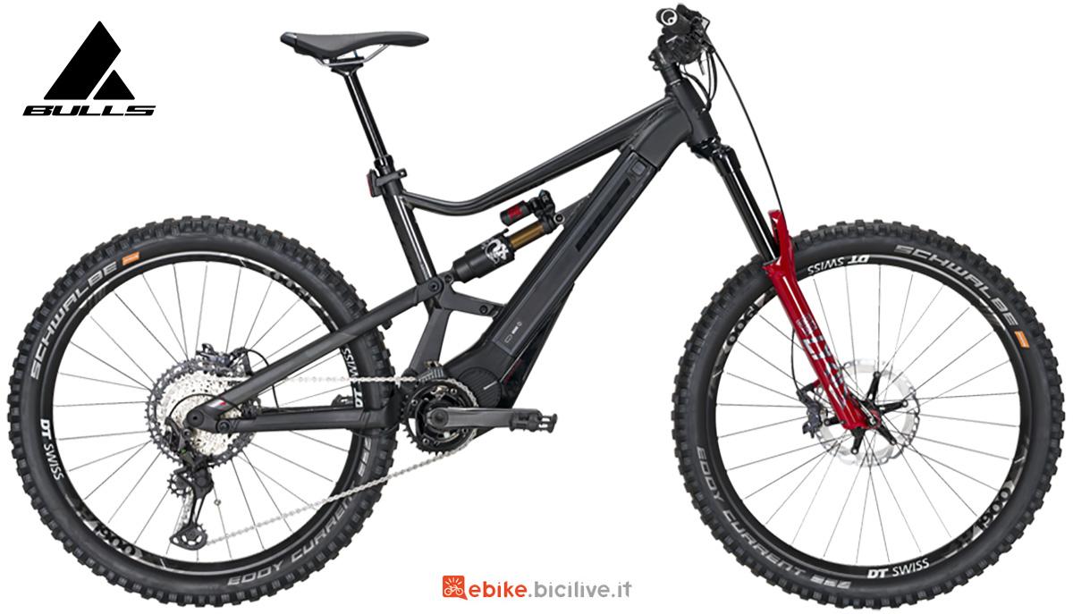 La nuova mtb elettrica full-suspended Bulls bike E-core Evo EN 2021